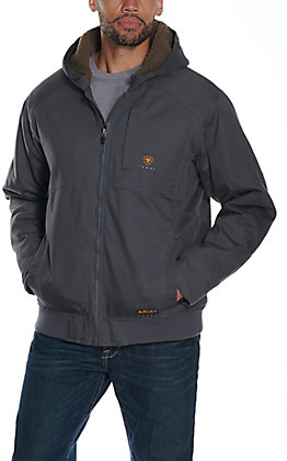 Ariat Men's Rebar DuraCanvas Hooded Jacket