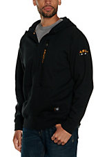 Ariat Men's Rebar Full Zip Black Hoodie