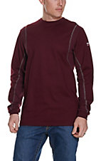 Ariat Men's Malbec Wine FR AC Crew Work T-Shirt - Big & Tall