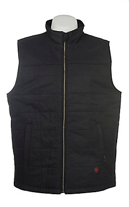 Ariat Men's FR Ripstop Insulated Black Vest Big & Tall