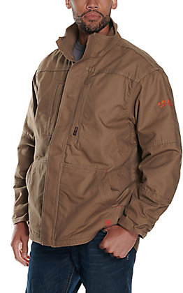 Ariat Men's FR Workhorse Field Khaki Jacket