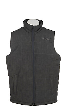 Ariat Men's Charcoal Cruis Vest