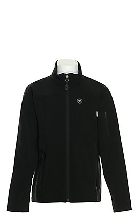 Ariat Youth Black Vernon Long Sleeve Bonded Jacket