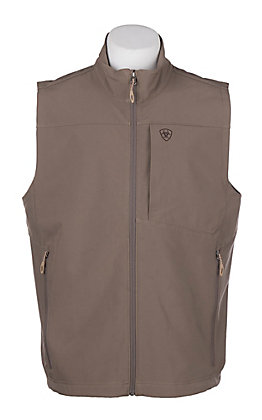 Ariat Cavender's Exclusive Men's Brown Softshell Vest