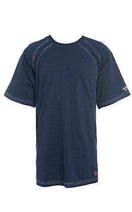 Ariat Men's Navy Short Sleeve Cat2 Work T-Shirt