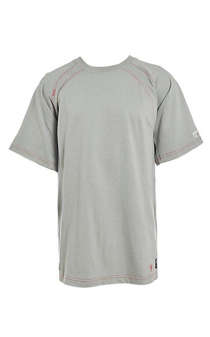 8be26e745e3 Ariat Women's CAT2 Grey Short Sleeve Work Shirt
