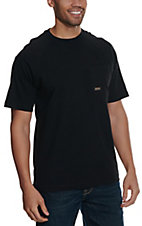 Ariat Men's Black Rebar CottonStrong T-Shirt