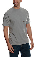 Ariat Men's Rebar Heather Grey CottonStrong T-Shirt
