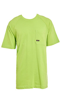 Ariat Men's Lime Rebar CottonStrong T-Shirt
