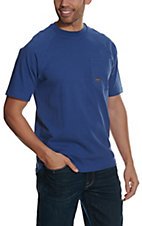 Ariat Men's Metal Blue Rebar CottonStrong T-Shirt