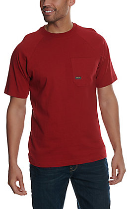Ariat Men's Rebar Cotton Strong Rio Red Short Sleeve T-Shirt