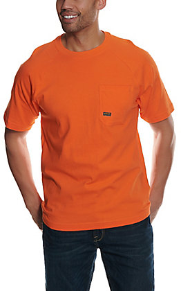 Ariat Men's Safety Orange Rebar CottonStrong T-Shirt