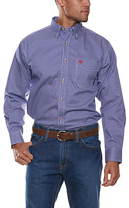 Ariat Men's Cobalt Liberty Long Sleeve FR Work Shirt