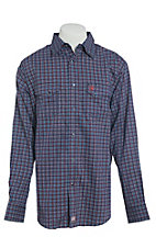 Ariat Men's Flame Resistant Navy Plainview Snap Work Shirt