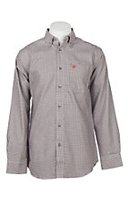 Ariat Men's Cavender's Exclusive FR CAT2 Rockville Work Shirt