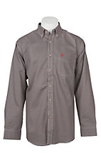 Ariat Men's Cavender's Exclusive FR CAT2 Lucky Coffee Bean Work Shirt