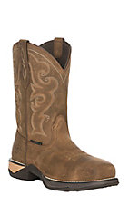 Ariat Women's Chipmunk Brown Anthem Pull-On Square Composite Toe Work Boot