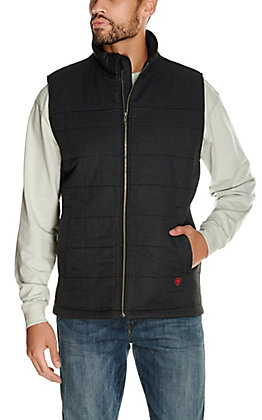 Ariat Men's Black FR 15OZ CAT3 Insulated Work Vest