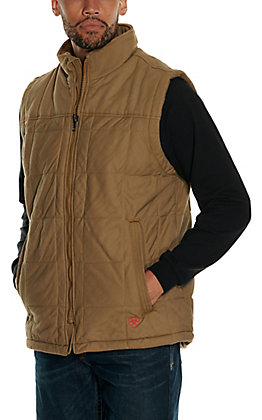 Ariat Men's Khaki FR 15OZ CAT3 Insulated Work Vest