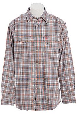 Ariat FR Men's Salt Aimers Long Sleeve FR Snap Work Shirt