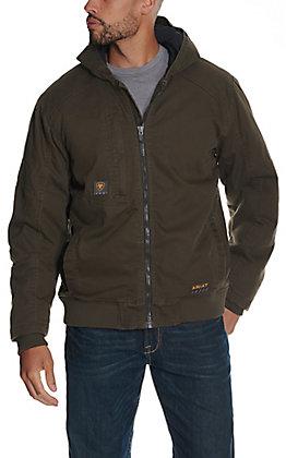 Ariat Rebar Men's Brown 9OZ Insulated Work Jacket