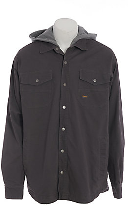 Ariat Rebar Men's Grey 9OZ Insulated Canvas Work Jacket