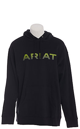 Ariat Men's Black Logo Softshell Hoodie