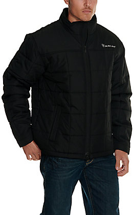 Ariat Men's Black Insulated Softshell Jacket