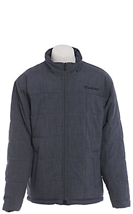 Ariat Men's Slate Grey Insulated Soft Shell Jacket