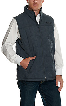 Ariat Men's Slate Grey Insulated Softshell Vest