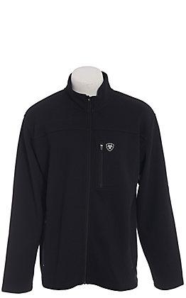 Ariat Men's Black Duratek Softshell Full Zip Jacket
