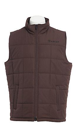 Ariat Cavender's Exclusive Men's Crius Dark Brown Insulated Vest