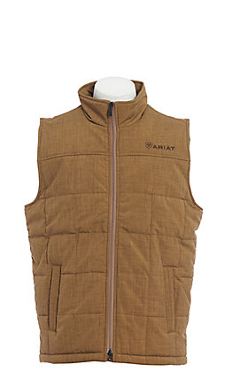 Ariat Cavender's Exclusive Men's Heather Tan Crius Insulated Vest