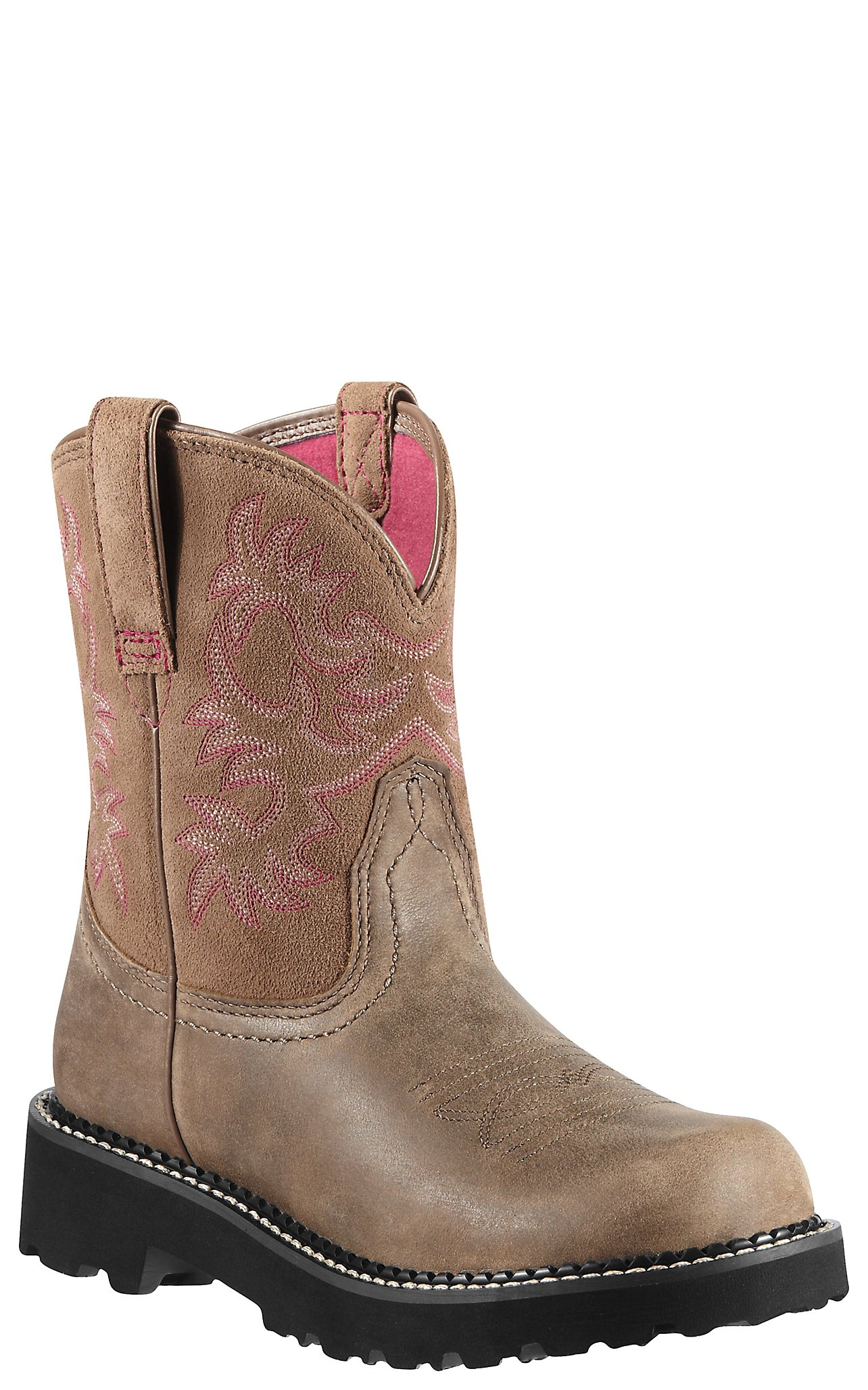 Ariat Fatbaby Ladies Brown Bomber Boots | Cavender's