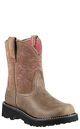 Ariat Fatbaby Women's Brown Bomber Boots