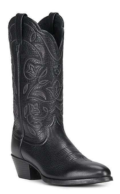 aesthetic appearance buying cheap hot-selling latest Ariat Women's Heritage Black R-Toe Western Boots