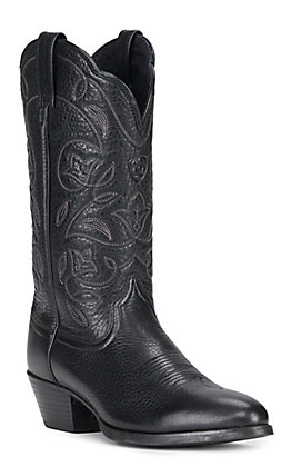 Ariat Women's Heritage Black R-Toe Western Boots