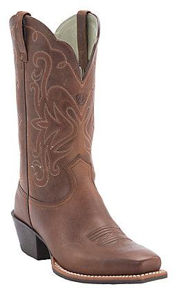 Ariat Women's Russet  Rebel Legend Western Boot for Wider Widths