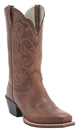 Ariat Women's Russet Rebel Legend Punchy Toe Western Boot