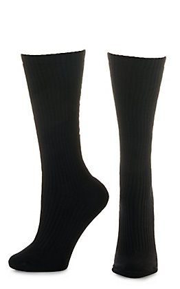 Ariat Men's Black Mid Calf 3Pk Boot Socks (X-Large)