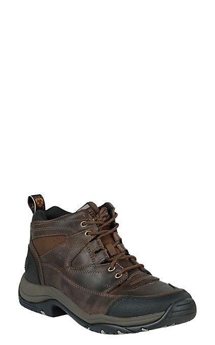 c1d266cfef2a9 Ariat Men's Distressed Brown Terrain Hiker Boots
