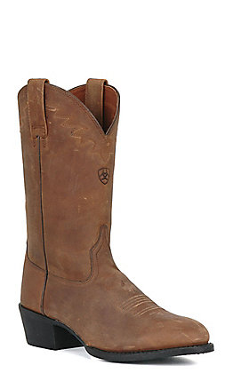 Ariat Sedona Men's Distressed Brown R-Toe Western Boots