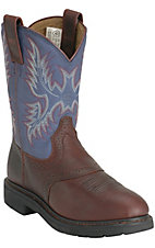 Ariat Redwood Sierra Saddle  Steel Toe Workboot