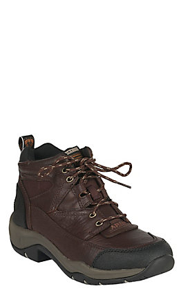 Ariat Terrain Women's Chocolate Brown Cordovan Lace Up Hiker Boots Casual Shoes