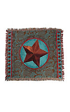 Manual Woodworkers & Weave Classic Lone Star Throw Blanket