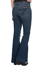7 For All Mankind Women's Glam Medium Dojo Trouser Jeans
