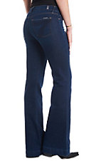 7 For All Mankind Serrano Night Dojo Flare Jean
