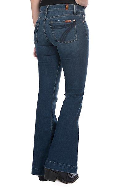 c261a6dfaa 7 For All Mankind Women s Bella Heritage Dojo Trouser Jeans