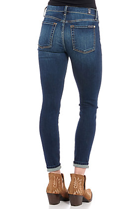 7 For All Mankind Women's Denim Ankle Skinny Jeans