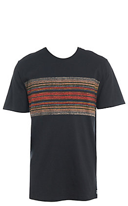 Hurley Men's Black Pendleton Acadia Premium Short Sleeve T-Shirt